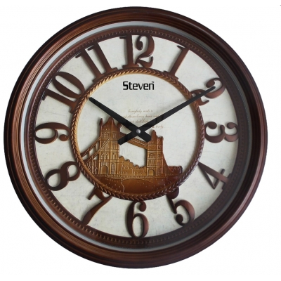 Vintage Wall Clock Sq-2001