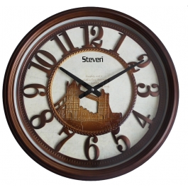 Vintage Wall Clock Sq-2001