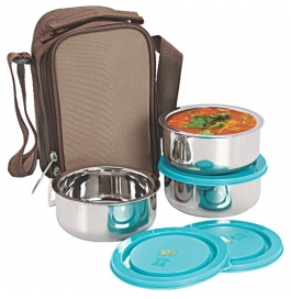 Nano9 Insulated 3pc Junior Lunch Box