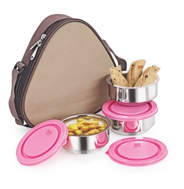 Nano9 Insulated 3pc Hexa Junior Lunch Box
