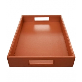 Leather Bar Tray 1 Pcs