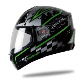 Steelbird Air Racer - Full Face Helmet Black L