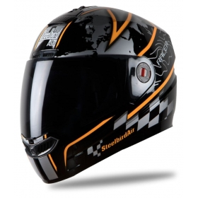 Steelbird Air Racer - Full Face Helmet Black L