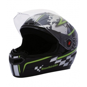 Steelbird Air Sba-1 - Full Face Helmet Black L