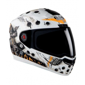 Steelbird Air Sba-1 - Full Face Helmet White L