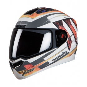Steelbird Air Sba-1 Woody - Full Face Helmet White M