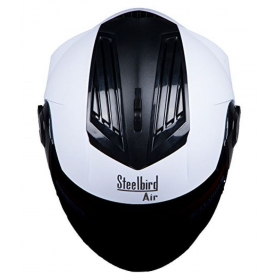 Steelbird Air Sba-2 - Full Face Helmet White L