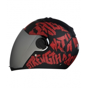 Steelbird Air Sba-2 Strength - Full Face Helmet Red L