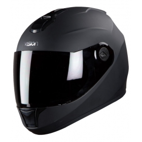 Steelbird Vision Anti Bacterial Men's - Full Face Helmet Black L