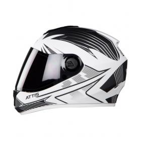 Steelbird Vision Attis - Full Face Helmet White L