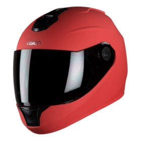 Steelbird Vision Dashing Anti Bacterial Men's - Full Face Helmet Red M