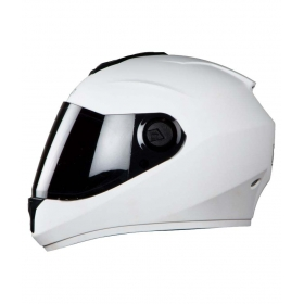 Steelbird Vision Dashing Anti Bacterial Men's - Full Face Helmet White L