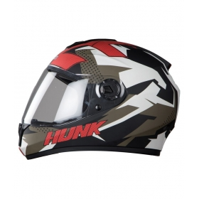 Steelbird Vision Hunk Anti Bacterial Men's - Full Face Helmet Black L
