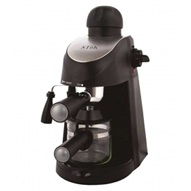 Stok St-ecm01 4 Cups 800 Watts Espresso Coffee Maker