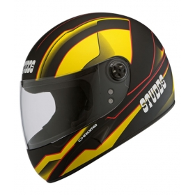 Studds Chrome D4 Decor N5 - Full Face Helmet Black L