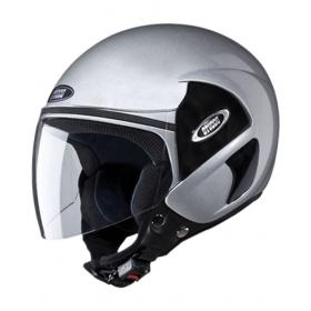 Studds Cub - Open Face Helmet Silver L