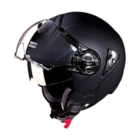 Studds Downtown Open Face - Open Face Helmet Black L