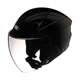 Studds Dude - Open Face Helmet Black L