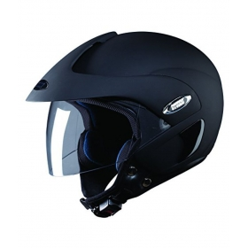 Studds Marshall Open Face Helmet - Open Face Helmet Black L