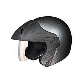 Studds Ninja Concept Economy Open Face Helmets Grey Xl