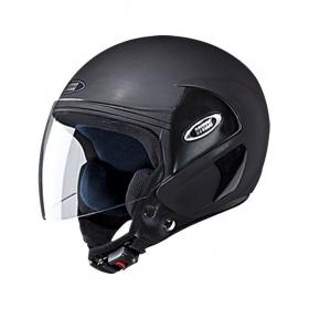 Studds - Open Face Helmet - Cub (matte Black) [large - 58 Cms]