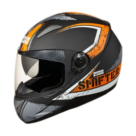 Studds Shifter D1 Decor Matt N 10 - Full Face Helmet Black L