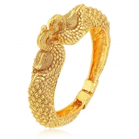 Gold Plated Alloy Kada