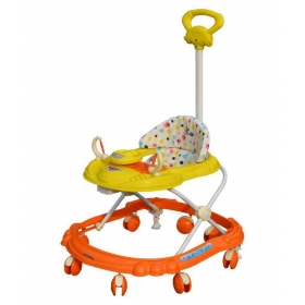 Racer Musical Walker Sb-4112_orange With Yellow