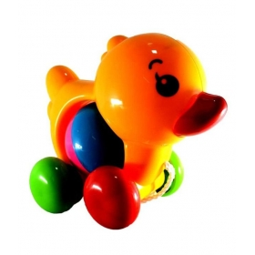 Pull Line Cute Puppy And Duckling Toys