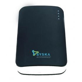 Syska Power Elite 52 5200 Mah Power Bank- Black
