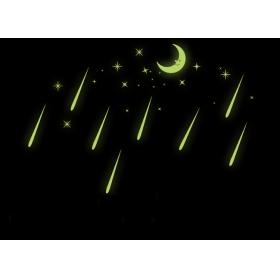 Y0037 Radium Glow In The Dark/radium  Wall Sticker  Jaamso Royals