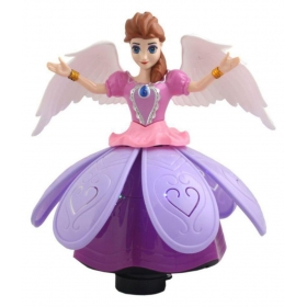 Taaza Garam Kids Princess Doll Dancing & Rotating Angel Girl Flashing Lights With Music