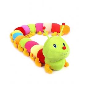 Multicolor Soft Plush Catter Piller