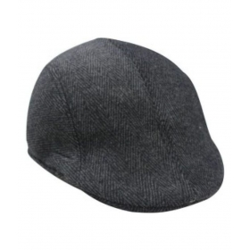 Black Cotton Golf Cap - Pack Of 1