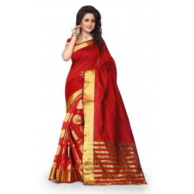 Tamasha Gehana Red Sareee