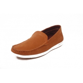Contablue Penny Loafers Shoes (tan)