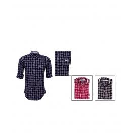 Designer Shirt 7842 Yarn Dyed Check Shirt
