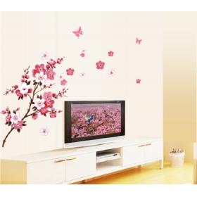 Ay6008 Blossom Flower Nature Wall Sticker  Jaamso Royals