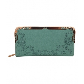 The Trendy Green Wallet