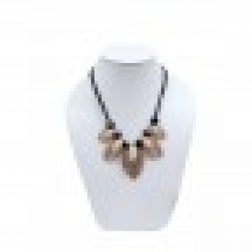 Durga Fashion Golden Color Elegant Necklace