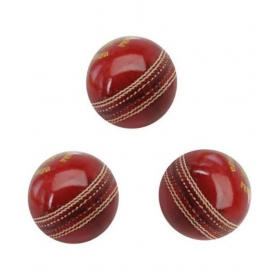Leather Cricket Ball Set Of 3