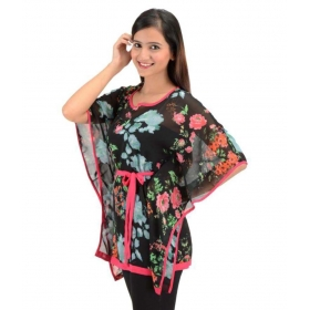 Multi Color Poly Georgette Kaftans