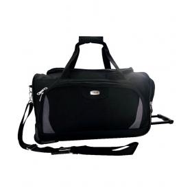 Timus Morocco Plus 55 Black Wheel Duffle Luggage Trolley Bag