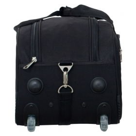 b182b63c7e9b Timus Samprass 55 Cm Black 2 Wheel Duffle Trolley Bag For Travel (cabin -small  Luggage). Loading zoom. undefined. undefined. undefined