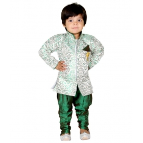Green Synthetic Sherwani