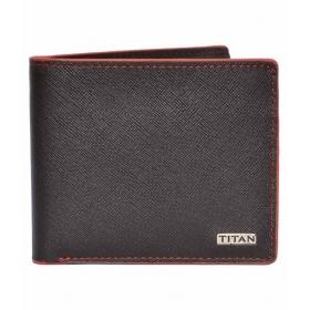 Titan Brown Leather Formal Wallet Art Tw181lm1br