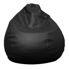 Tjar Xl Bean Bag With Beans In Black