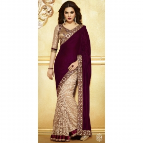 Designer Fancy Saree Bollywood Replica 504