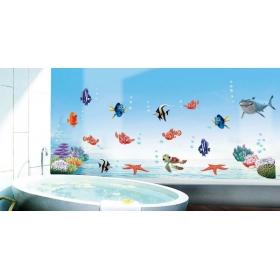 Ay617 Sea Creatures  Sea Creatures  Wall Sticker  Jaamso Royals