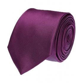 Tossido Purple Plain Formal Necktie
